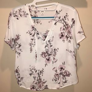 Blouse with Flowers from Garage